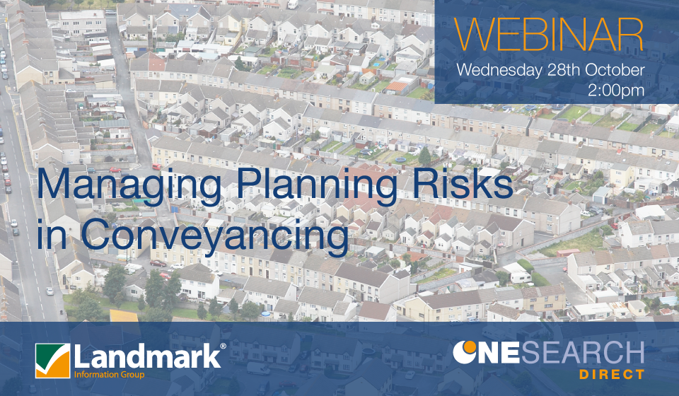 Free CPD Webinar on Planning Risk heading image
