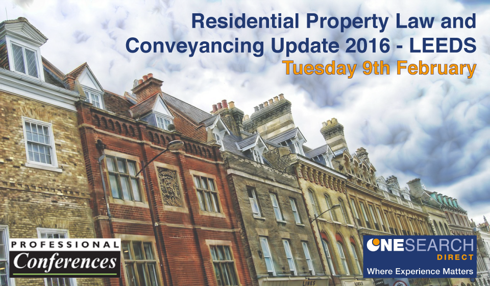 PROPERTY LAW & CONVEYANCING UPDATE - LEEDS heading image