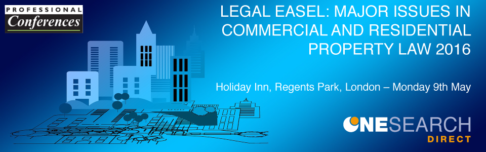 Legal Easel Conference - Monday 9th May heading image
