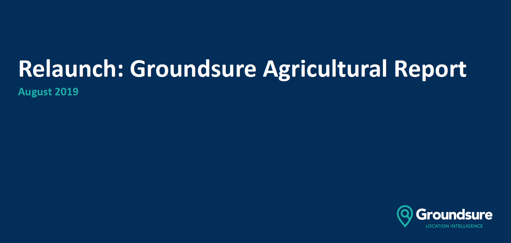 Groundsure Agricultural Price Notification heading image