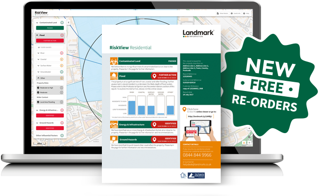 Free report re-ordering service for RiskView Residential users header image