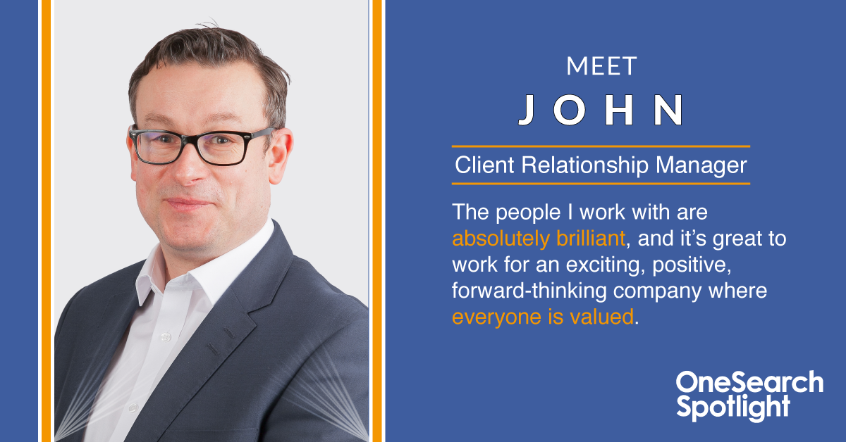 Spotlight Series | Meet John heading image