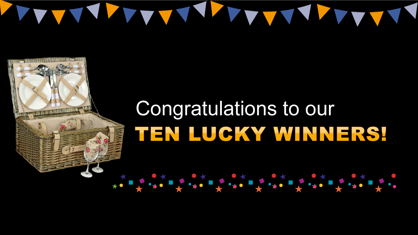Congratulations to our winners! header image
