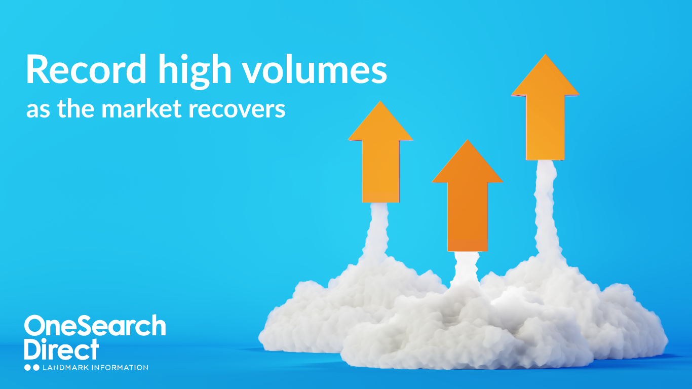 Record High Volumes for OneSearch Direct header image