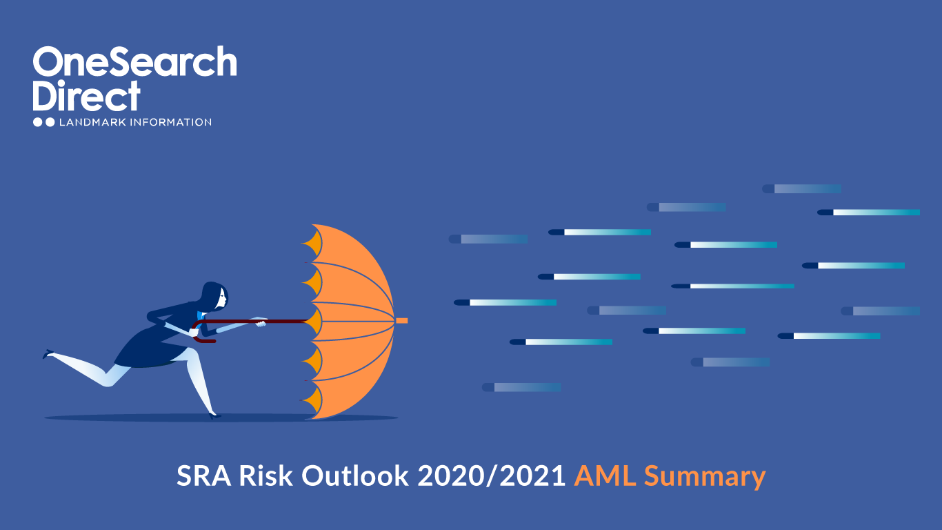 SRA Risk Outlook 2021 AML Summary header image