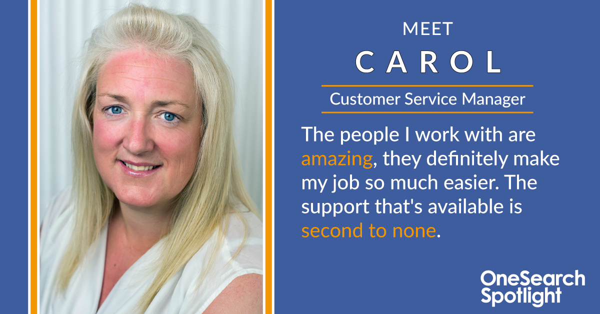 Spotlight Series | Meet Carol header image
