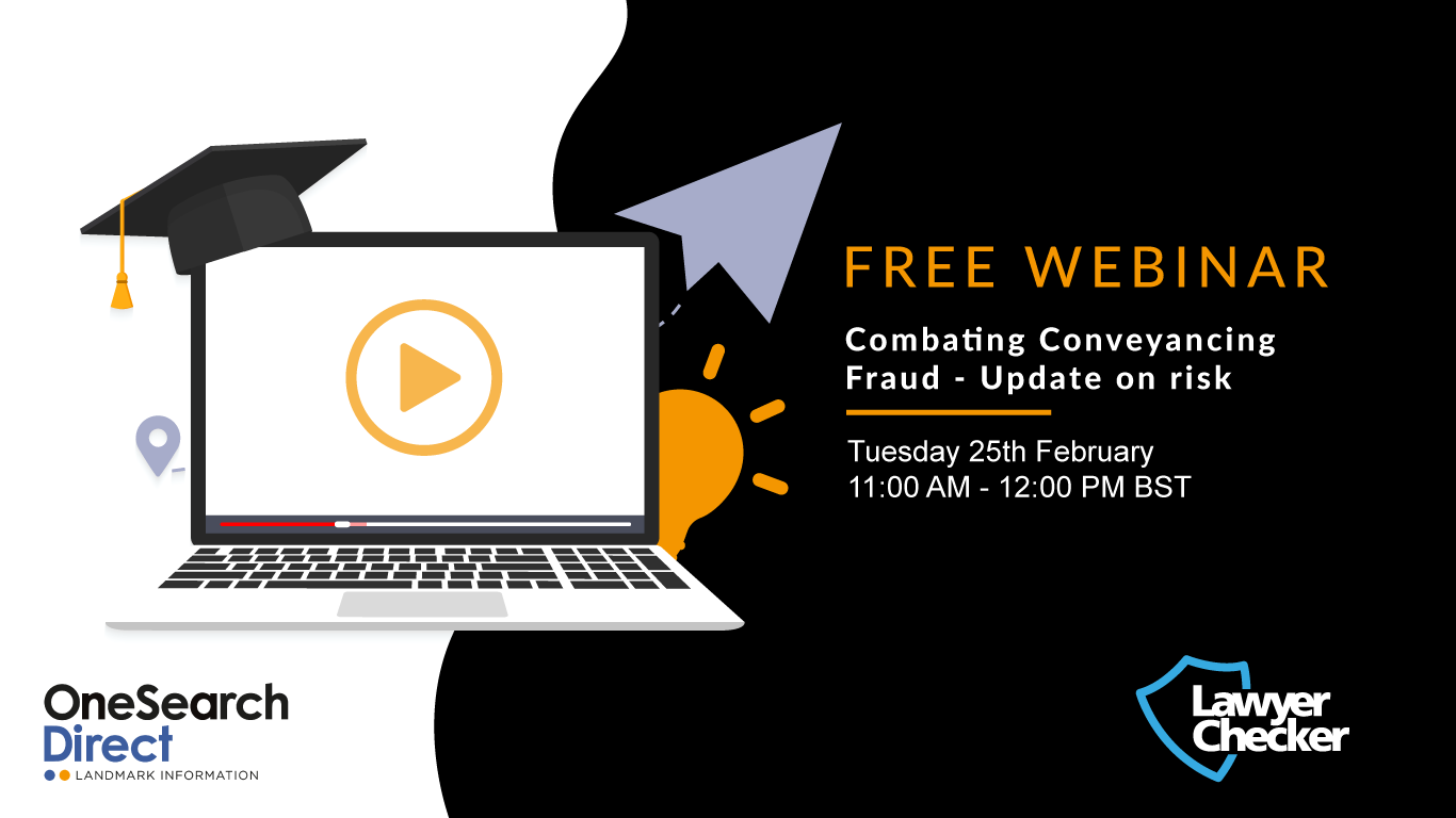 [Free Webinar] Combating Conveyancing Fraud | Update on risk header image