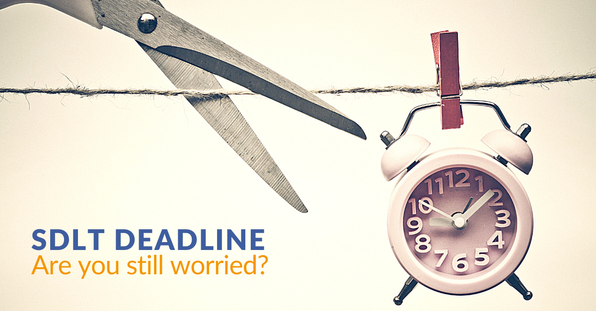 Are you still worried about the SDLT deadline? header image