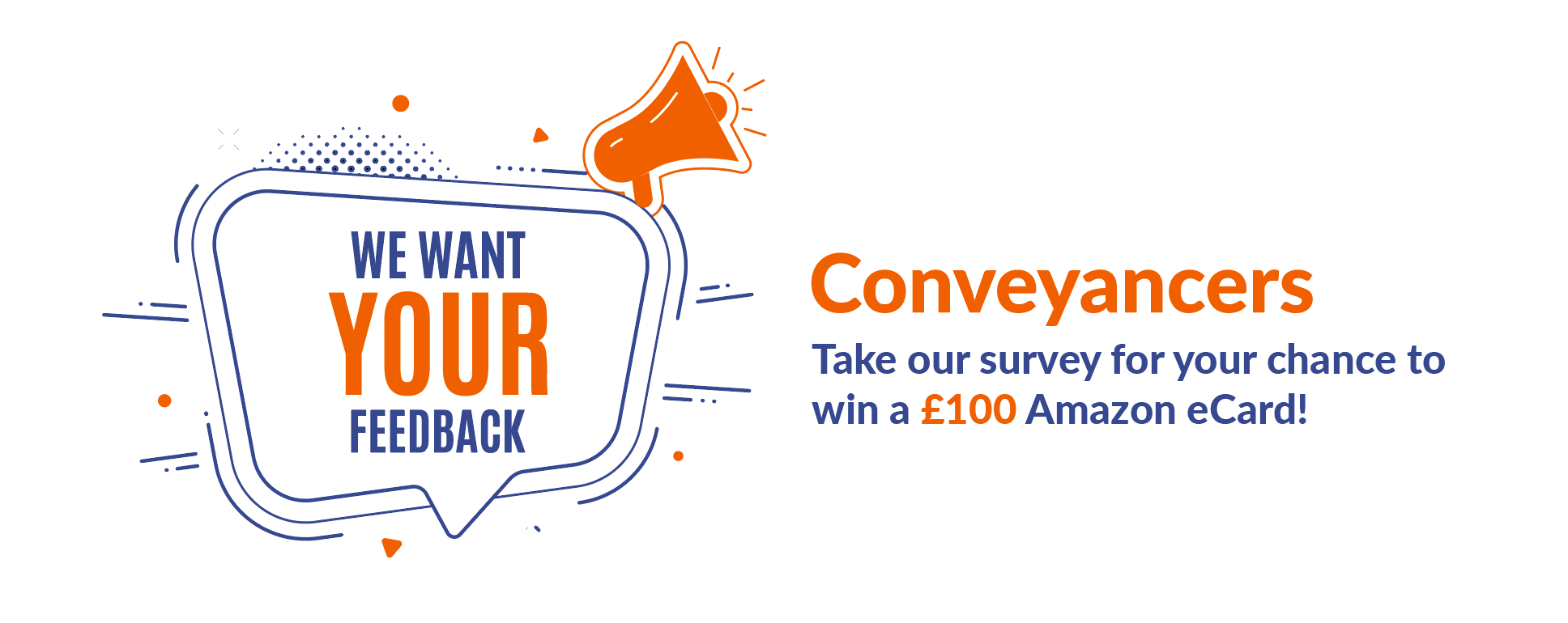 Take our survey for the chance to win a £100 Amazon eCard header image