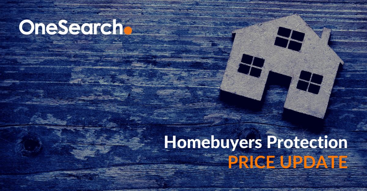 Homebuyers Protection Price Increase heading image