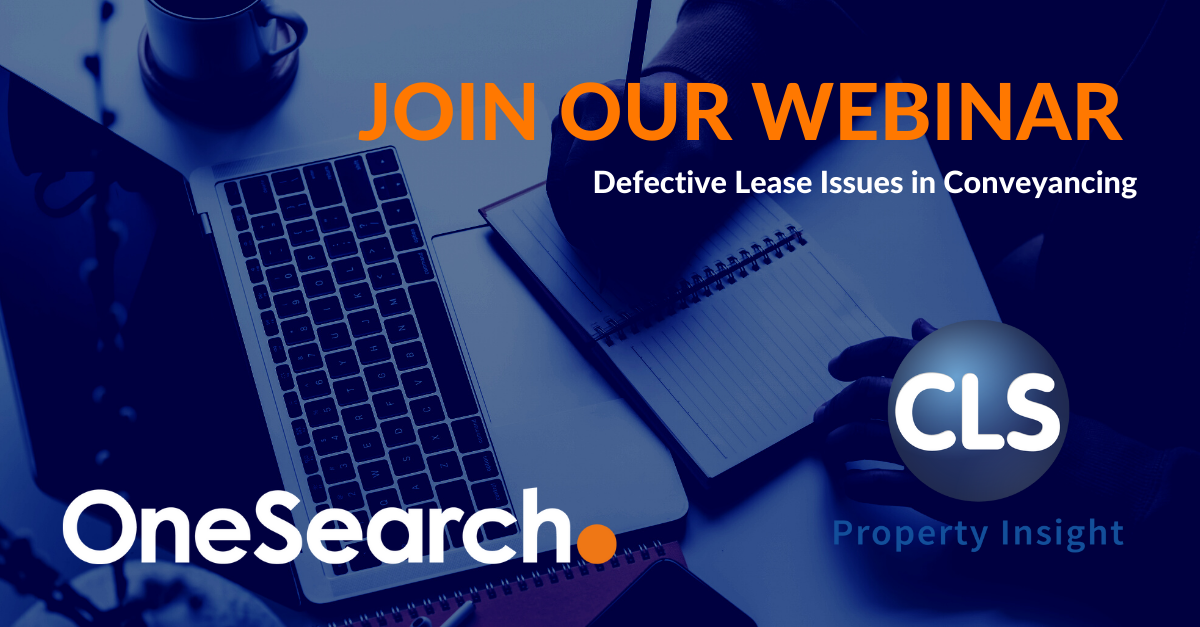 Defective Lease Issues in Conveyancing | Webinar header image