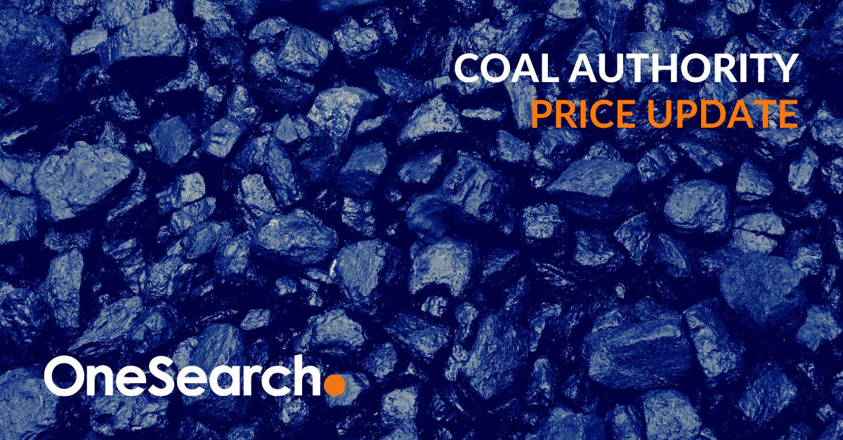 Coal Authority Price Updates header image