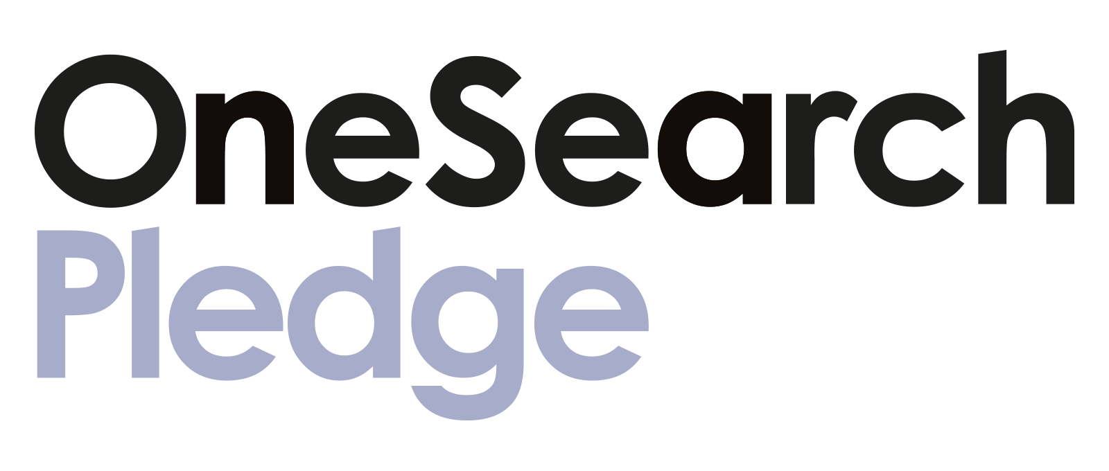 OneSearch Pledge header image